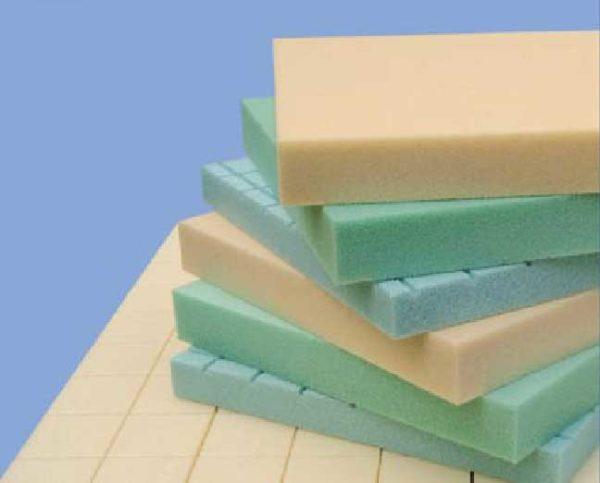 Разные виды вспененных газонаполненных полимеров.