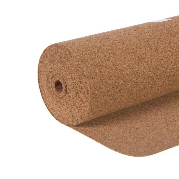 Рулонная техническая пробка 2 мм — применяется как подложка под ламинат.