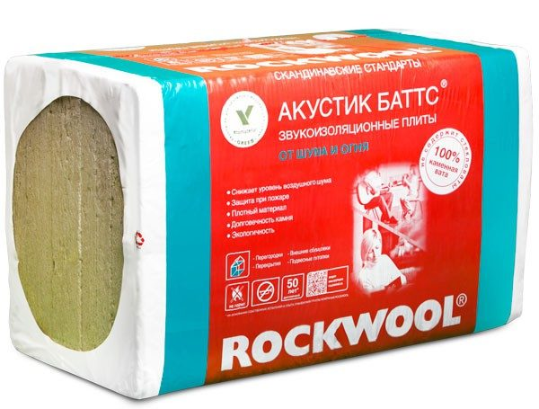 С помощью каменной ваты Роквул можно избавиться от наружного шума в помещении