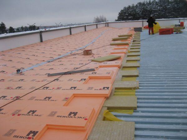 Серия Кровля предназначена для утепления плоских крыш