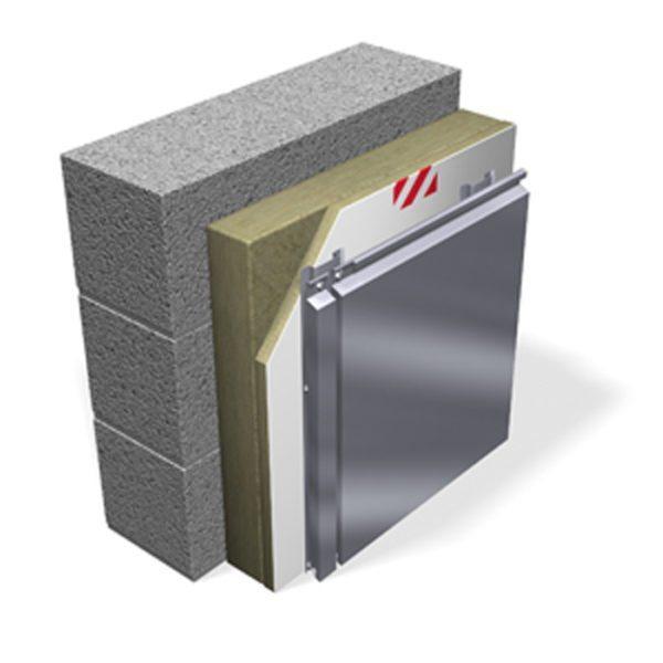 Серия WAB предназначена для навесных фасадов и каркасных стен