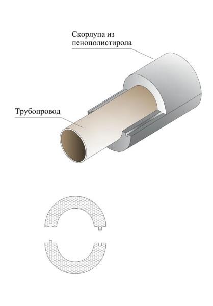 Схема делает понятным способ соединения.