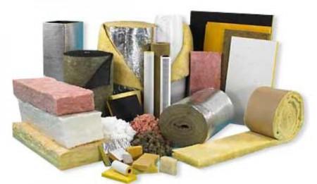 Широкий выбор теплоизоляционных материалов