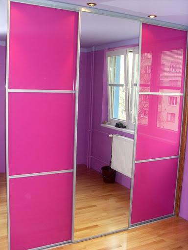 шкаф купе для девочки