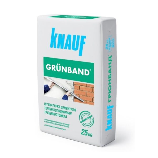 Штукатурка КНАУФ-Грюнбанд