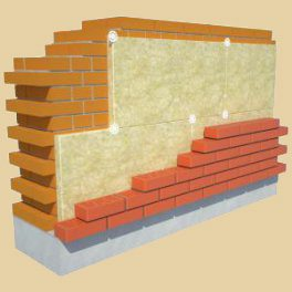 Слоистая кладка стеновых конструкций
