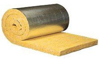 Стекловата Изовер с металлизированным покрытием
