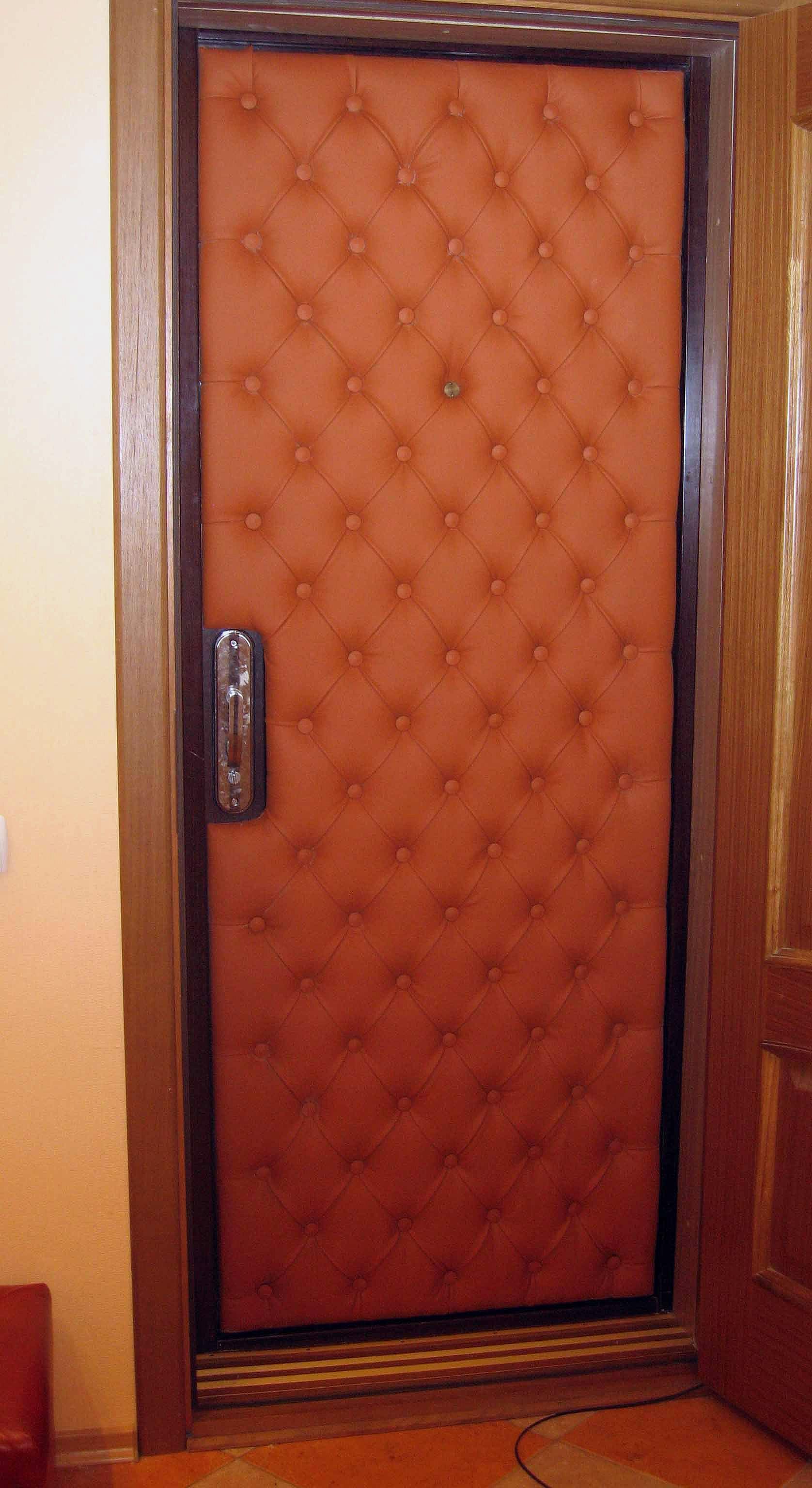 Утепление дверей своими руками фото 953