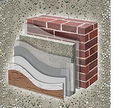 Технология «доведения до ума» первичной строительной поверхности выверена десятилетиями – многослойная структура. Штукатурка для тепла позволяет один слой устранить, она включает в себя сразу два – и утеплитель, и штукатурку