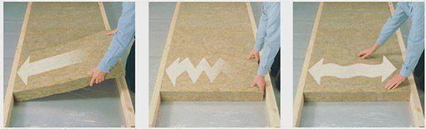 Технология «флекси» обеспечивает простой монтаж плит и плотное их прилегание к каркасу