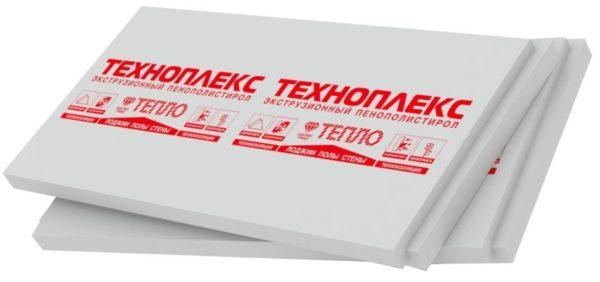 Техноплекс — одна из популярных марок экструдированного ППС.