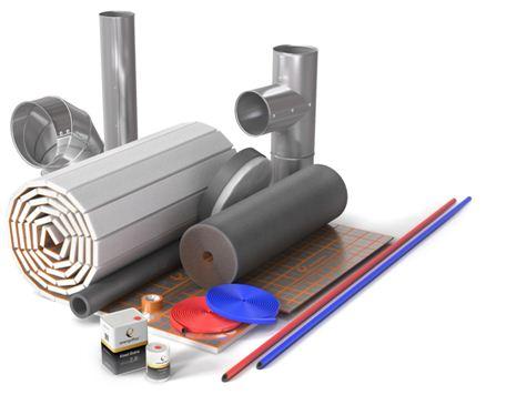 Теплоизоляционные материалы и приспособления для трубопроводов