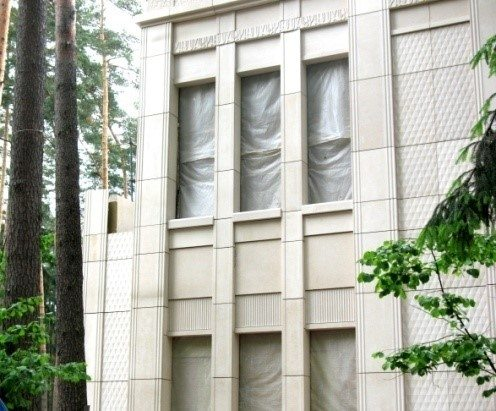 Теплоизоляционная краска может использоваться для утепления фасадов