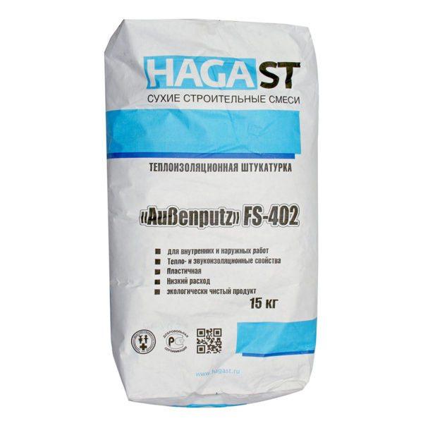 Теплоизоляционная штукатурка HAGAST