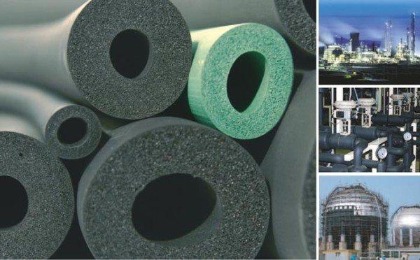 Теплоизоляционные материалы из вспененного каучука могут применяться как в промышленности, так и для бытовых целей.