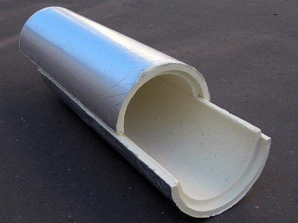 Теплоизоляционные скорлупы из пенополиуретана для трубного утепления