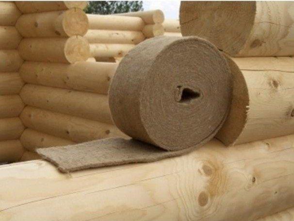 Теплоизоляционный материал из натурального сырья