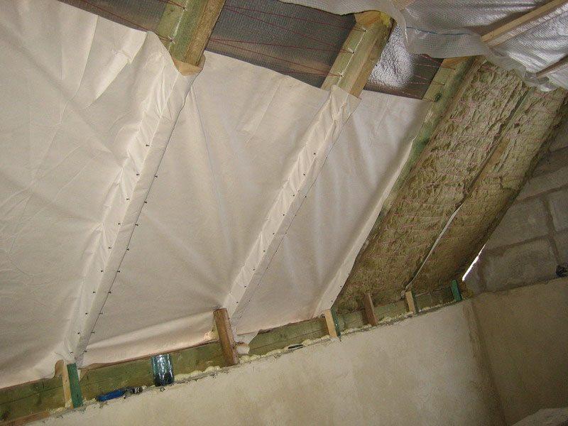 Утепление мансарды изнутри если крыша уже покрыта своими руками 70