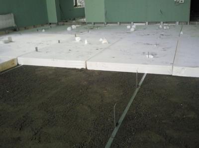 Теплоизоляция пола пенопластовыми плитами