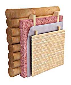 Теплоизоляция стен бани