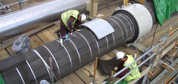 Теплоизоляция трубопровода с использованием фасонных деталей