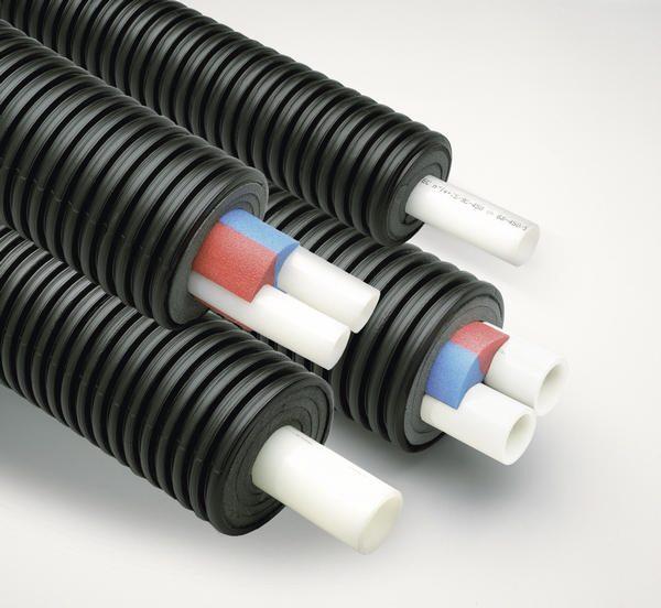 Теплоизоляция трубопроводных систем Uponor