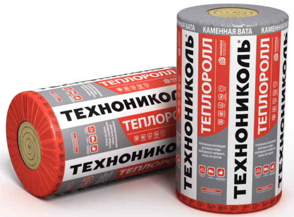 Теплоролл — это маты, свернутые в рулон.