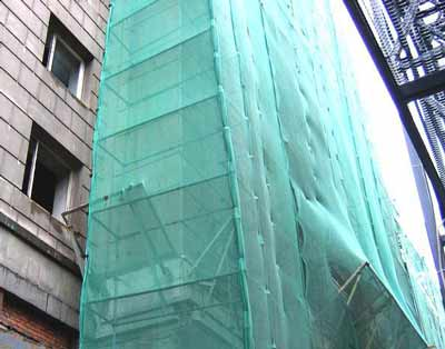 Тепловой контур на фасаде здания