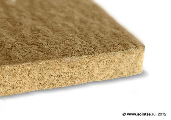 Теплозвукоизолирующие плиты для утепления