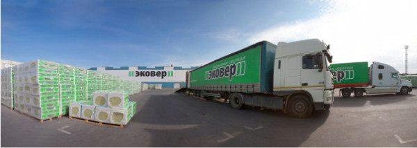 Транспортировка продукции с завода-производителя