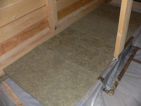 Укладка плитных материалов на керамзит поверх пароизоляции