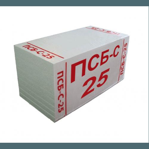 Упаковка пенопласта ПСБ-С25.