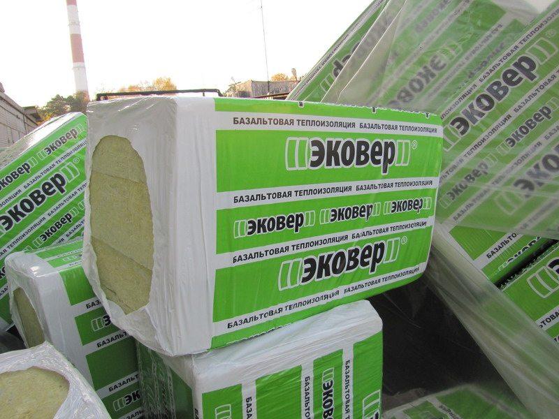 Упаковки минеральных плит ЭКОВЕР
