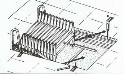 Установка люка в проем чердачного помещения
