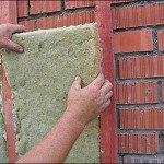 Установка утеплителя для вентилируемых фасадов