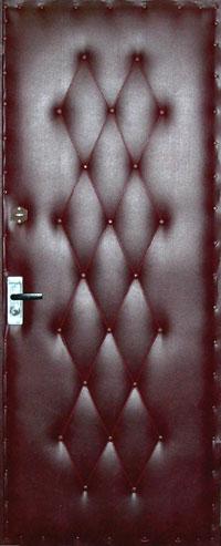 Утепление деревянной входной двери – создание рисунка
