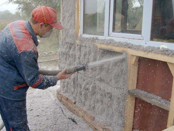 Утепление фасада снаружи