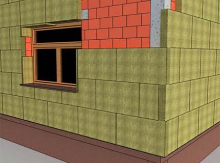 Утепление фасадов минватой – одно из лучших решений