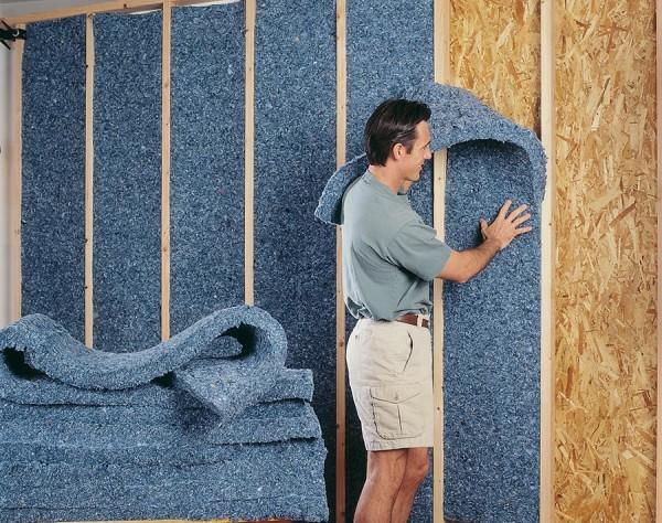 Утепление и звуковая изоляция стен