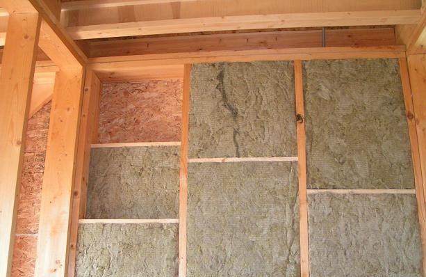 Утепление каркасного дома базальтовой ватой — обычное дело.