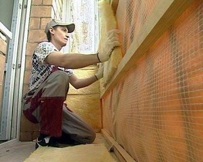 Утепление лоджии при помощи базальтового утеплителя – полноценная дополнительная комната