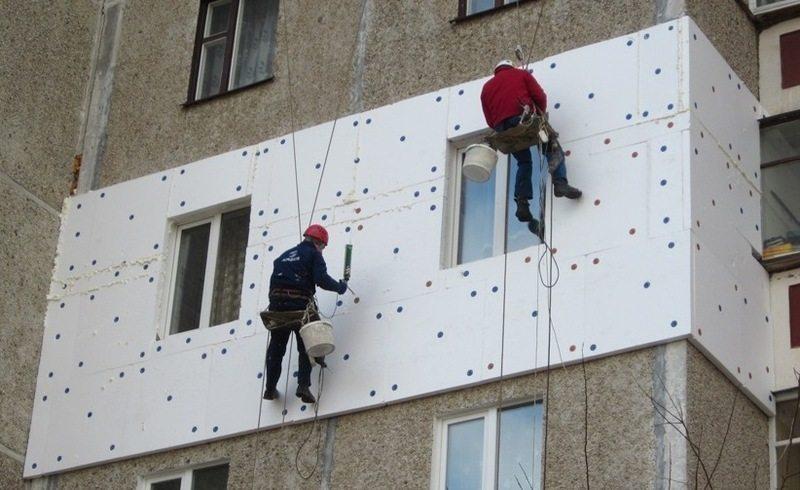 Теплоизоляция балкона из пенопласта