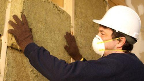 Утепление срубового дома минеральной ватой