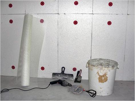 Утепление стен пеноплексом внутри дома