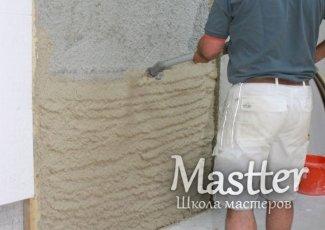 Утепление стен под штукатурку снаружи предполагает и использование специальных штукатурных утепляющих плит, что гораздо снижает трудозатраты
