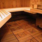 Утепленный пол бани