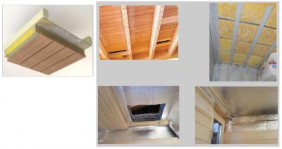 Утеплитель для потолка бани– последовательность монтажа
