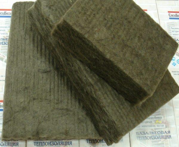 Базальтовый утеплитель - характеристики: теплопроводность и другие свойства, виды, видео и фото