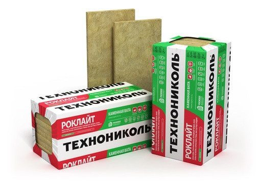 Утеплитель Роклайт от Технониколь представляет собой плиты из базальтовой ваты