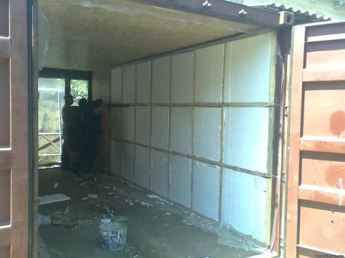 Утепляем гараж изнутри